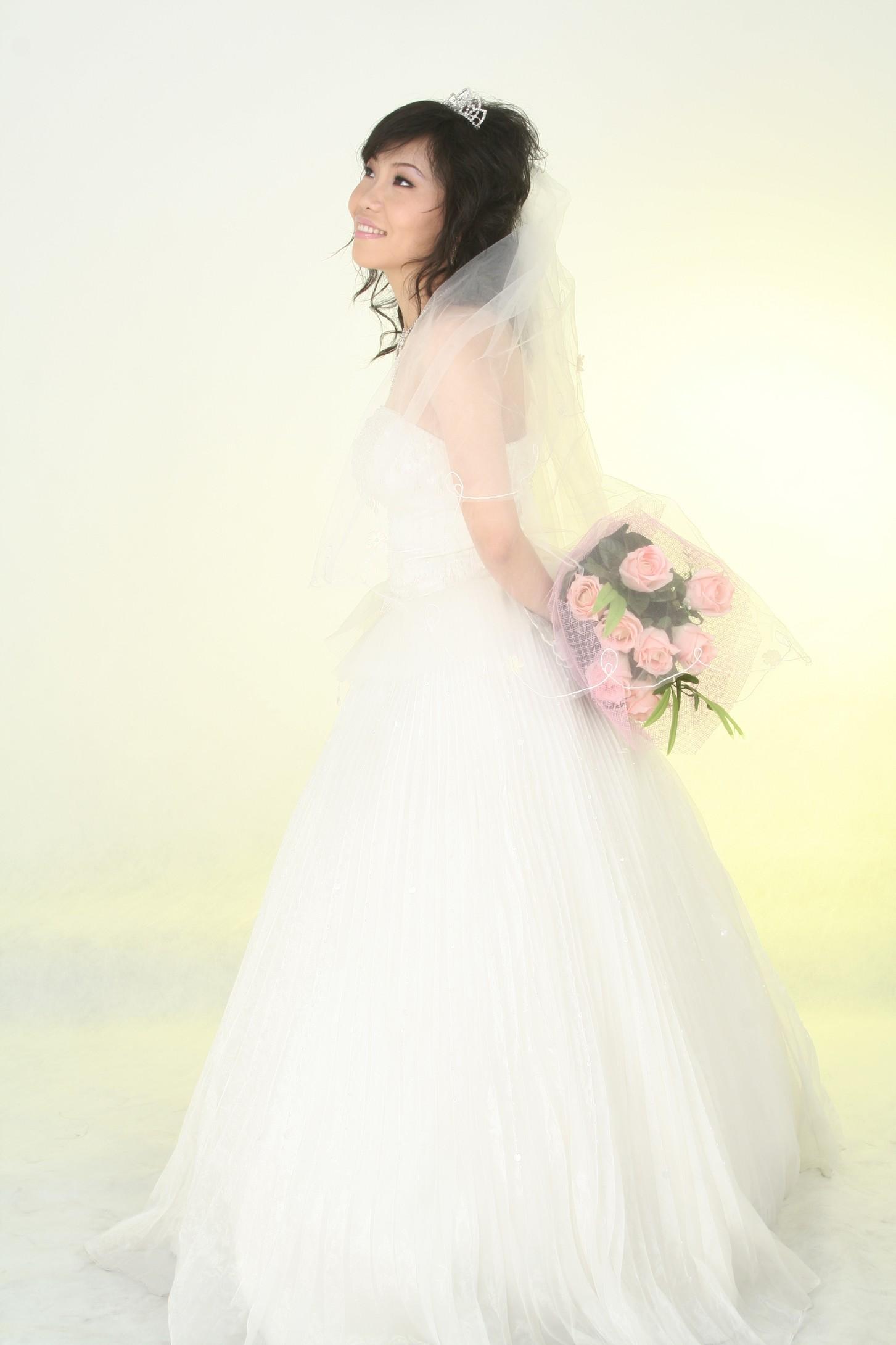 时尚婚纱照