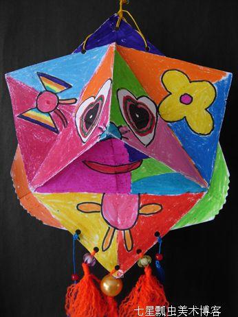 少儿手工制作风筝图片