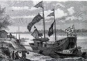 秦代水军建设和运用的成就 徐福东渡航路(二) 徐福东渡航路(一) 威震