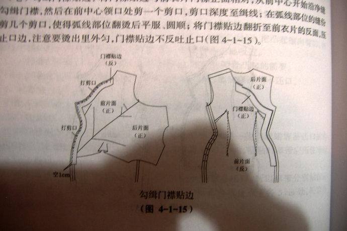[转载]【教程图纸】旗袍裁剪图