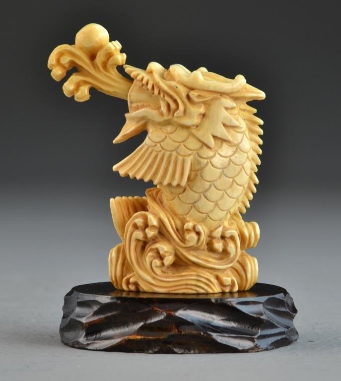 古董象牙和骨雕刻(中外艺术品)3