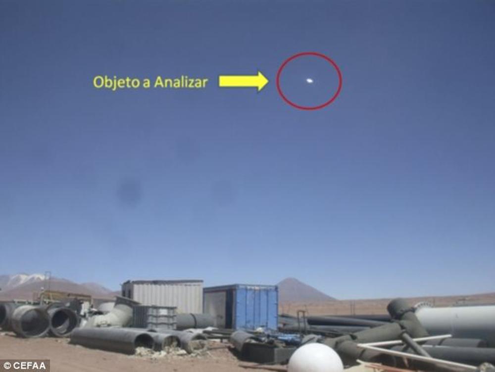 智利官方证实UFO存在