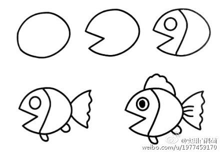 简笔画:分享几个画小动物的简笔画教程!