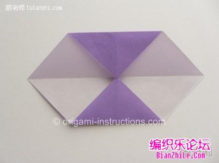 组合折纸立体花的制作方法