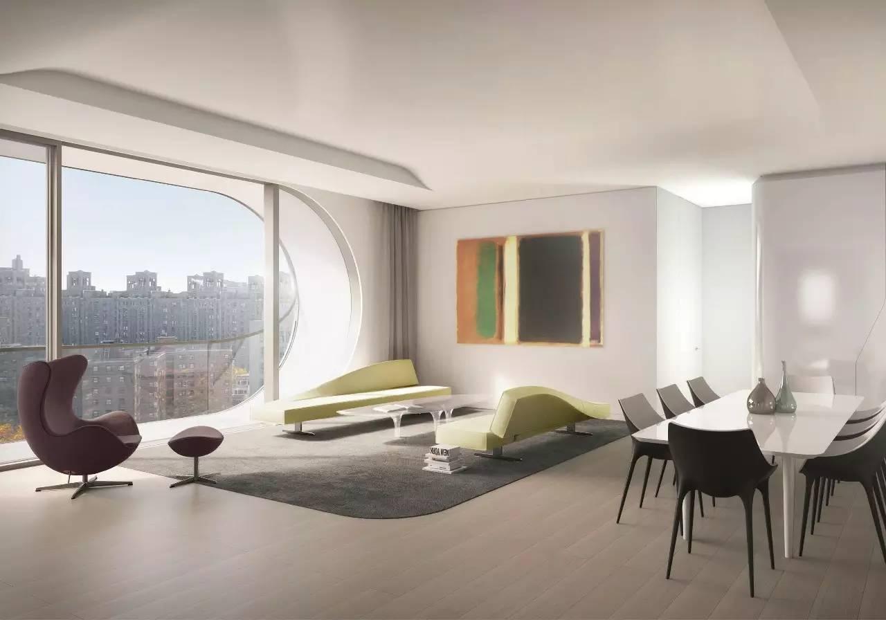扎哈为意大利家具品牌b&b设计的沙发,似乎已经成为空间装饰的利器图片