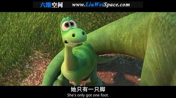 恐龙当家(the good dinosaur) 双语字幕 高清电影下载
