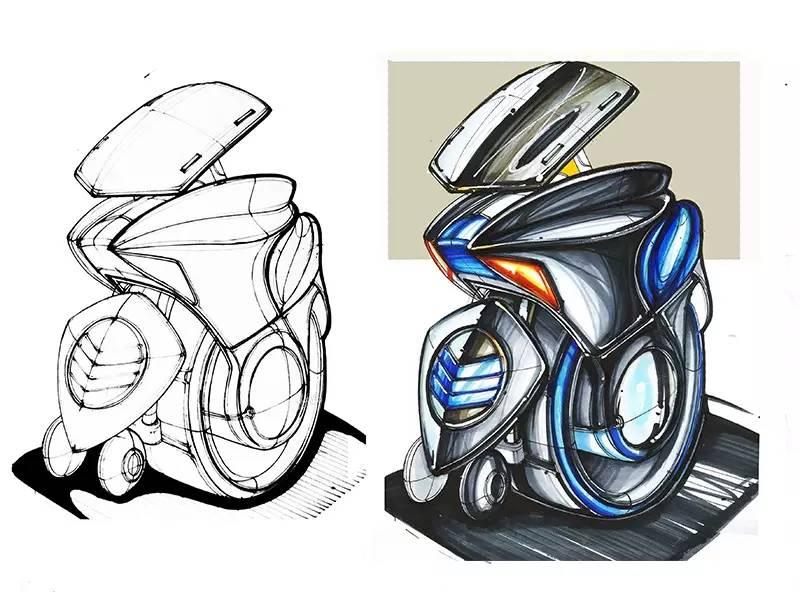 工业设计 手绘图片