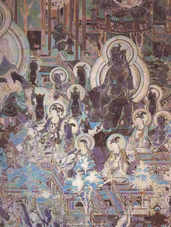 敦煌石窟中极珍贵的千年壁画欣赏(12)图片
