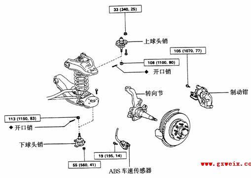 皇冠轿车结构图解与维修规范2 丰田汽车维修