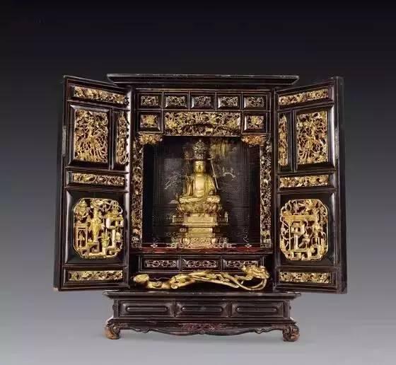 【图赏】佛龛——神灵栖居的地方图片