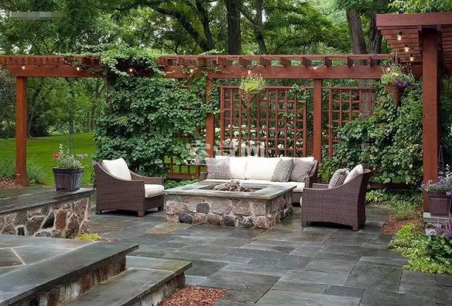 """""""我的空间,我做主"""" 现代庭院花园生活图片"""
