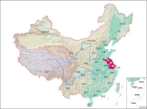 江苏省主体功能区规划图