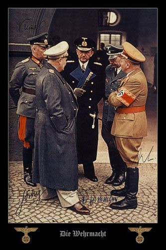 希特勒之剑:二战纳粹德国的元帅们