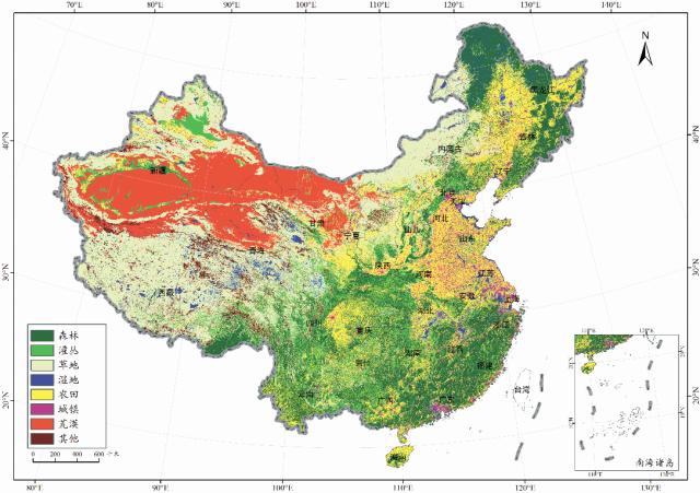 二是生态系统质量低,森林与草地质量有所图片