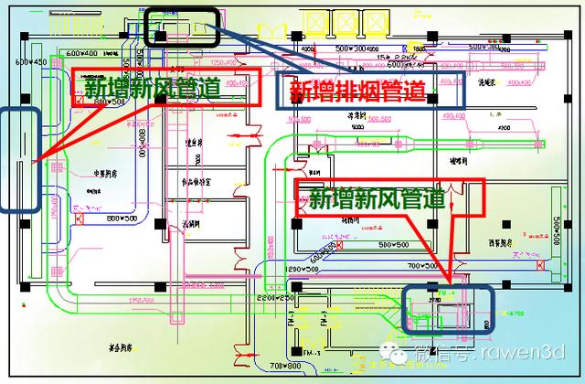 商用厨房室内通风空调设计(一)图片