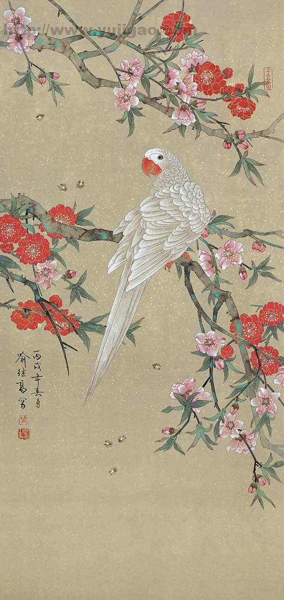 工笔花鸟画欣赏2