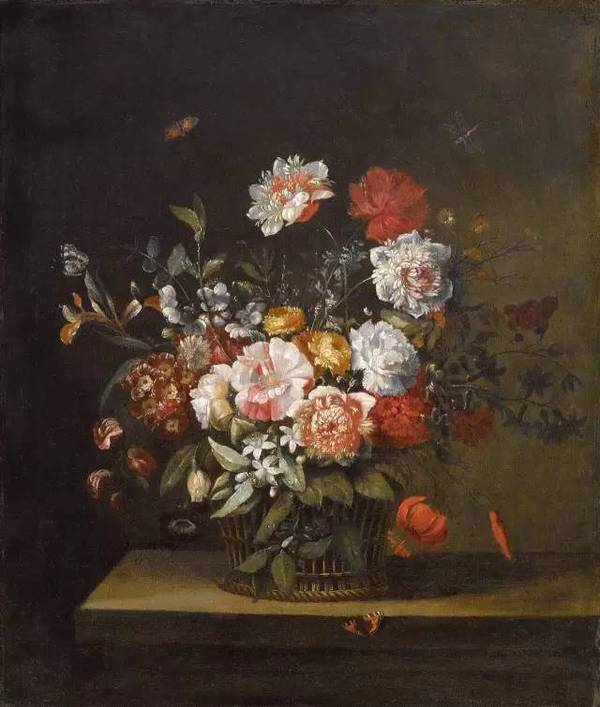 再美不过,古典油画静物花卉