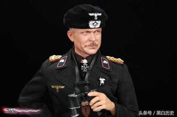 最高军阶为大将,与曼施坦因,隆美尔被后人并称为二战期间纳粹德国的三