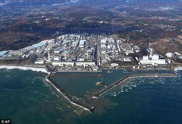 fukushima福岛7.4级地震