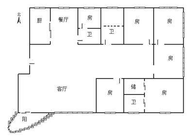 六十个平方房子设计图