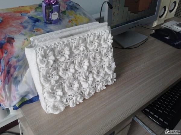 毛线钩织包包款式花样.