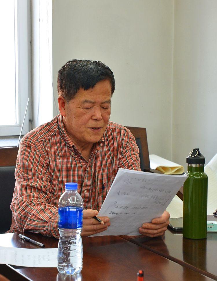 雕塑艺术家杨擎宇,及摄影师李敏,清流文学艺术网书画编辑王振,作家傅图片