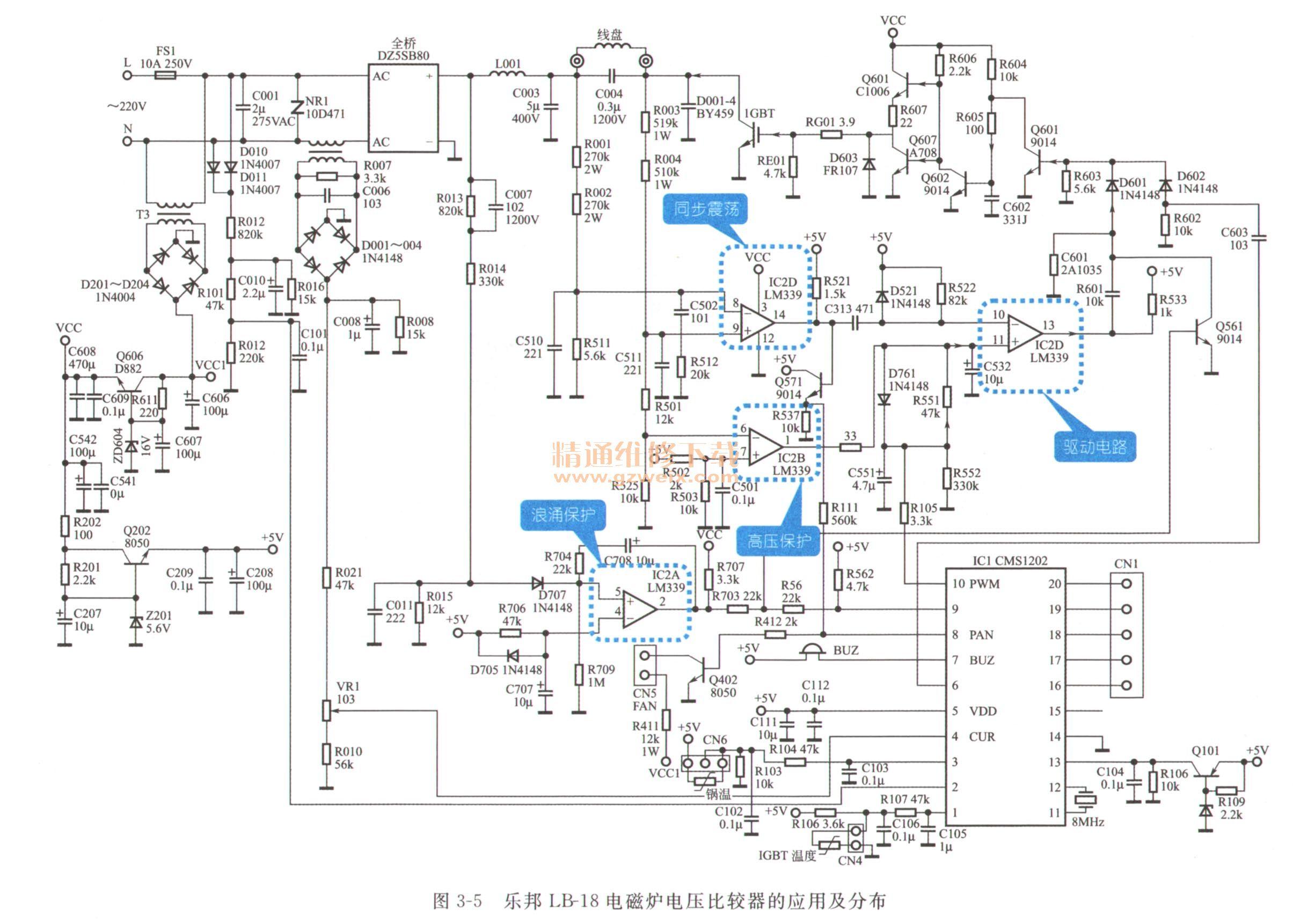 怎样才能看懂电路�_3.3看懂浪涌保护电路故障检修过程