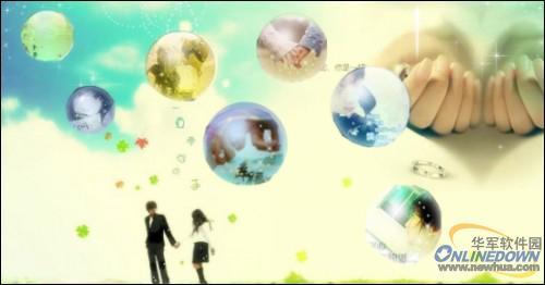 素材巧利用 美图秀秀打造漂亮的泡泡效果图片