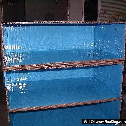 鞋盒纸盒diy手工制作鞋柜方法-用鞋盒做鞋架(转) - hzdaoxa的日志