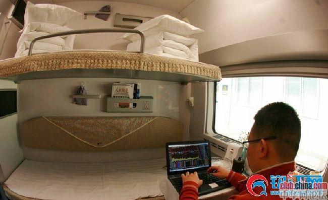 开眼:带你体验2300元/张的高铁高级软卧车厢!