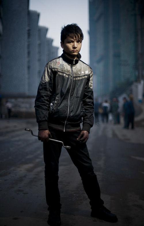 面孔——中國新生代農民工圖片