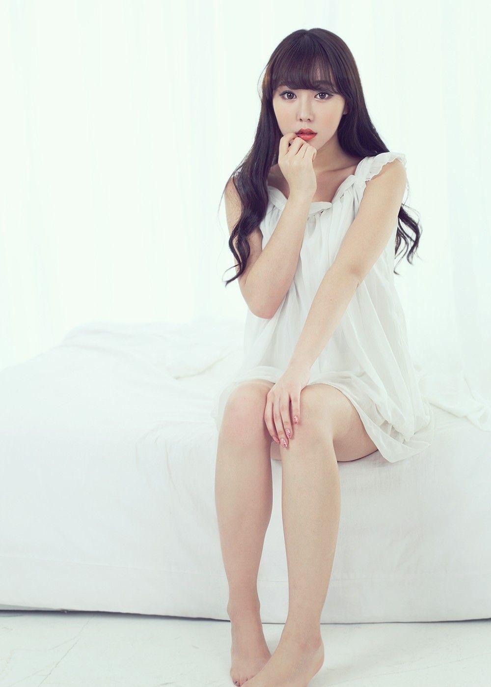 清纯可爱的韩国美少女